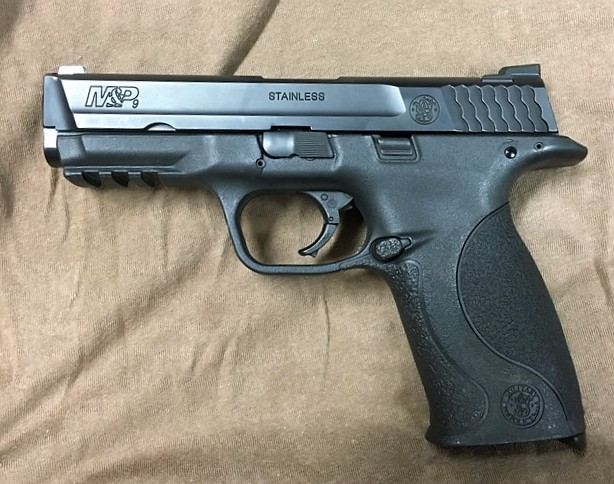 My first duty M&P9, which I started carrying in 2011 and the subject of my first endurance test.  This pistol fired over 15,000 rounds with no cleaning or lubrication.
